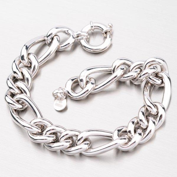 Stříbrný náramek Figaro 3+1 B1504202-1262-SLX