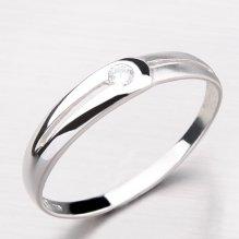 Dámský prsten se zirkonem DZ1049-B