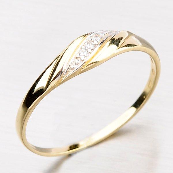 Krásný prsten se zirkony DZ2084-ZL