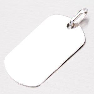 Stříbrná destička - psí známka P1403574-0009-SLX
