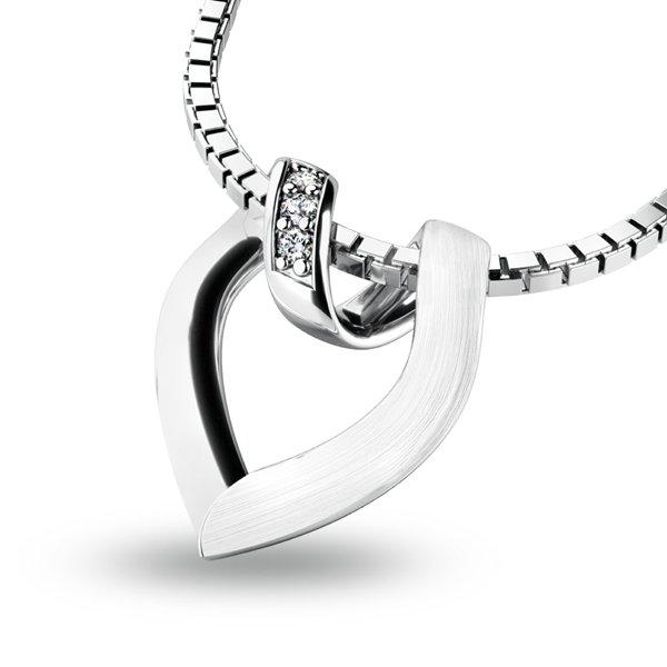 Přívěsek s diamanty 10878-B
