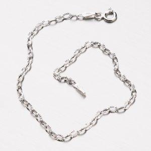 Stříbrný náramek Anker CHRS-DROP-OVALSTAR-025