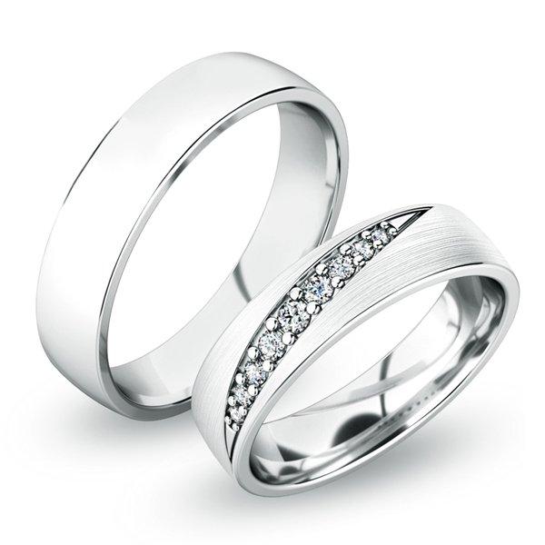 Snubní prsteny zlaté SP-61051