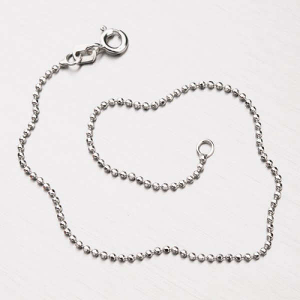Stříbrný náramek z kuliček CHRS-39-120-RH