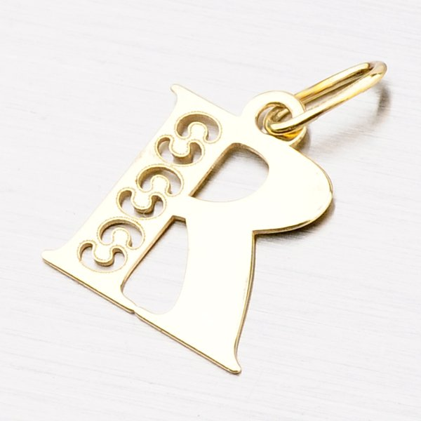 Zlaté písmenko R 442-0001-R