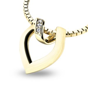 Přívěsek s diamanty 10878-ZL