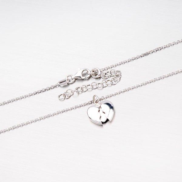 Stříbrný náhrdelník se srdíčkem XKXC-5003