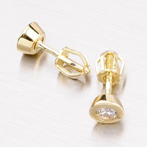 Pecky ze žlutého zlata GZ2294ZL