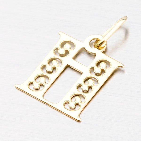 Zlaté písmenko H 442-0001-H