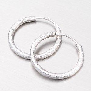 Gravírované stříbrné kroužky - 20 mm M8004