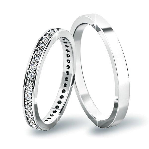 Snubní prsteny ze zlata SP-61044
