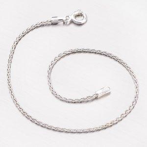 Náramek ze stříbra SPG-TRF-035