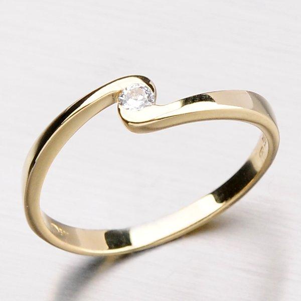 Dámský prsten se zirkonem DZ1934-ZL