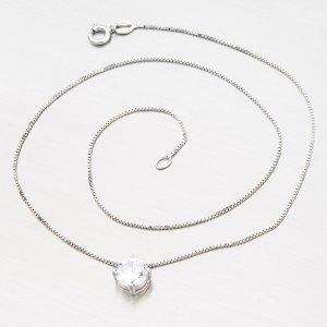 Stříbrný náhrdelník se zirkonem N1400006-0871-SLX