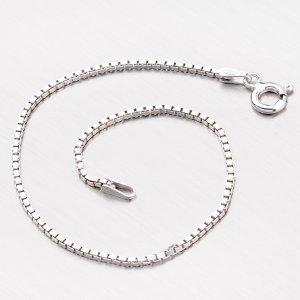 Náramek ze stříbra - benátské kostičky VEGD-026-Rh