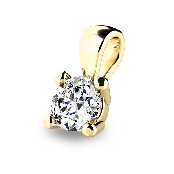 Diamantový přívěsek 10829-ZL