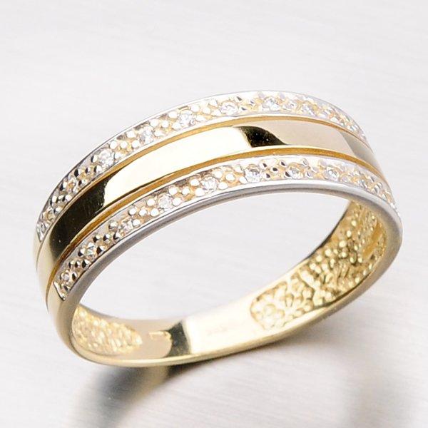 Dámský prsten se zirkony DZ1773-ZL