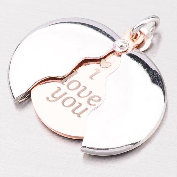 Krásný stříbrný přívěsek s rytinou P1602989-0940-SLX