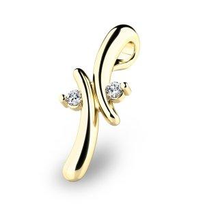 Přívěsek s diamanty 10852-ZL