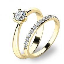Set prstenů ze žlutého zlata 10819-SET01-ZZ