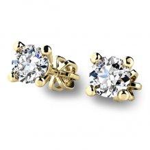 Diamantové náušnice pecky 10828-ZL