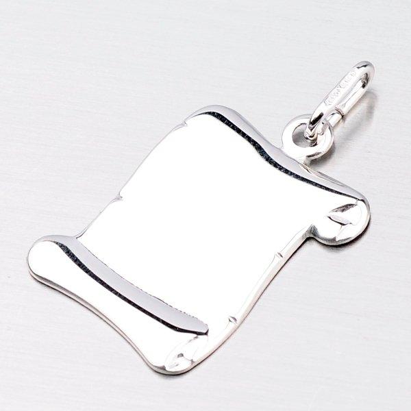 Stříbrná destička - pergamen M5542
