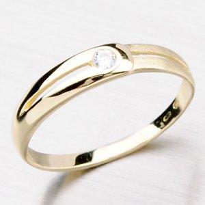 Dámský prsten se zirkonem DZ1049-ZL