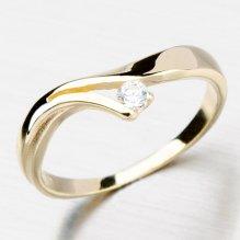 Zajímavý prsten ze zlata DZ1853-ZL 361875e5c60