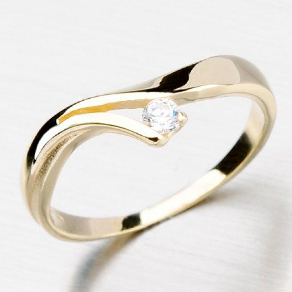 Prsten ze zlata DZ1853-ZL