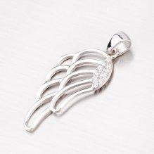 Andělská křídla - přívěsek z bílého zlata 43-21391