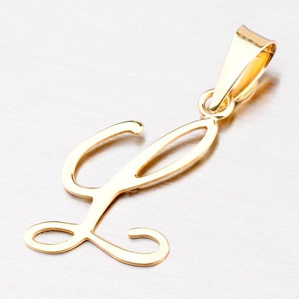 Přívěsek - zlaté písmenko L 43-2937-L