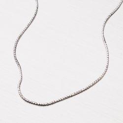 Jemný řetízek ze stříbra CHRS-13-RDIS16-020-RET