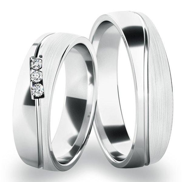 Snubní prsteny zlaté SP-284