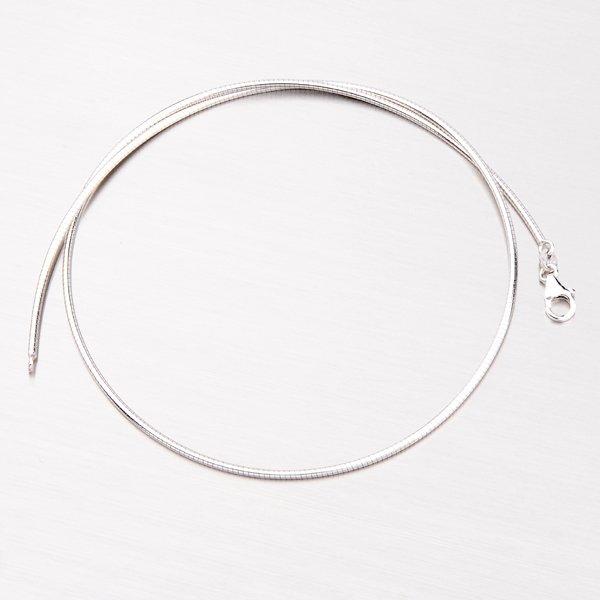 Pevný náhrdelník ze stříbra 92003043-53-SLX