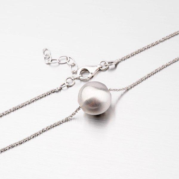 Stříbrný náhrdelník s kuličkou MCL1736CD14