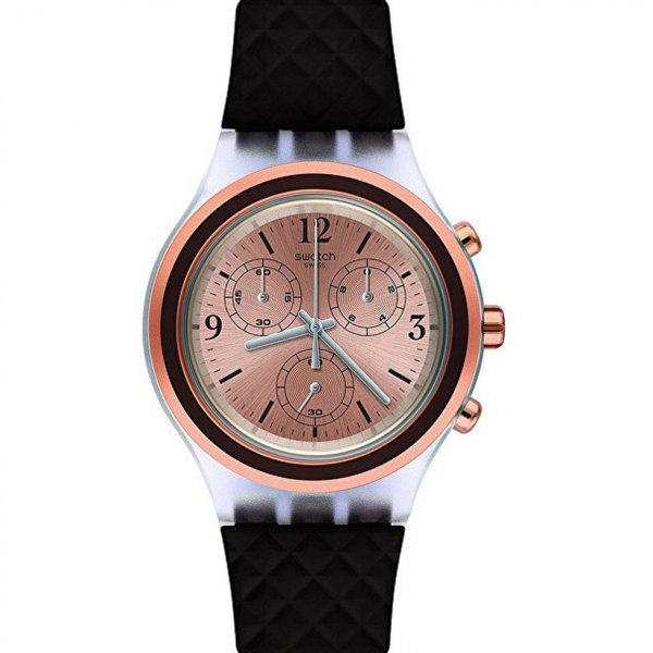 Hodinky Swatch Elebrown SVCK1005