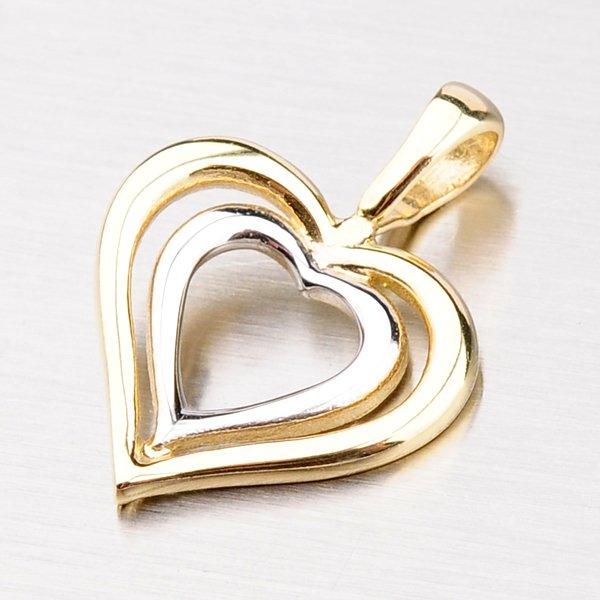 Srdce ze zlata DZ1601ZL