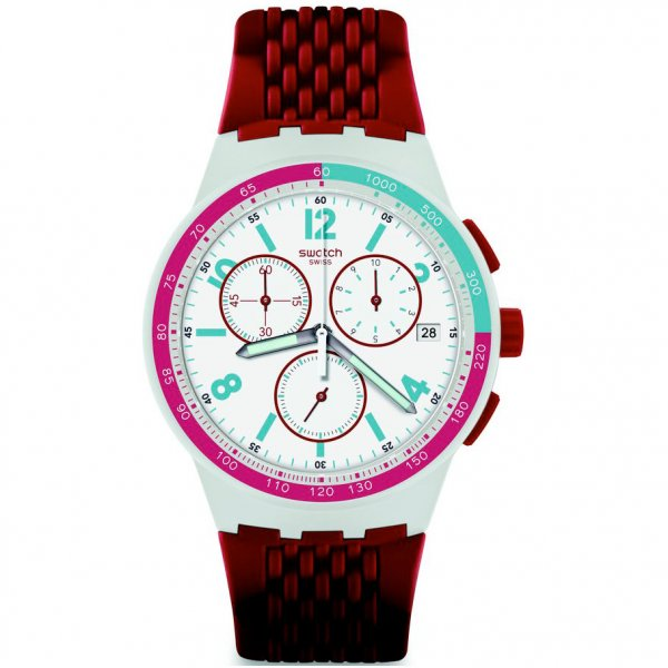Hodinky Swatch Red Track SUSM403