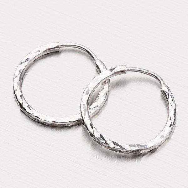 Kruhy zlaté - 18 mm 12-247