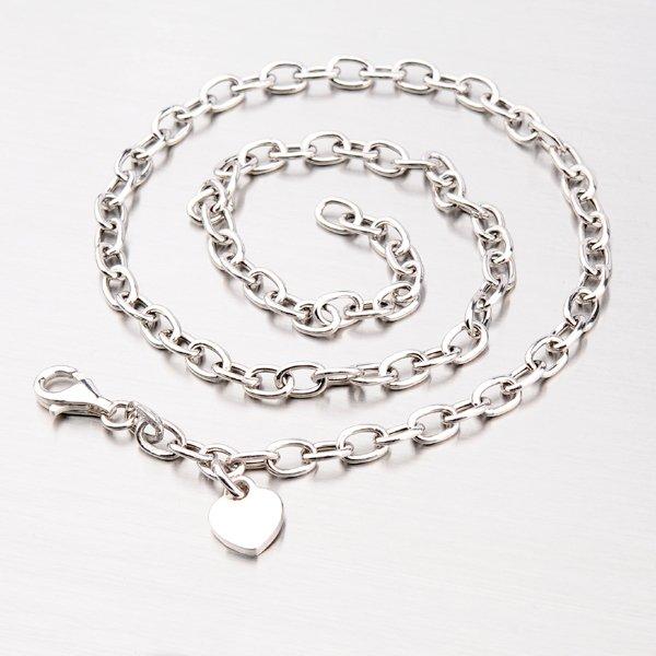 Krásný náhrdelník se srdíčkem N1401305-1264-SLX
