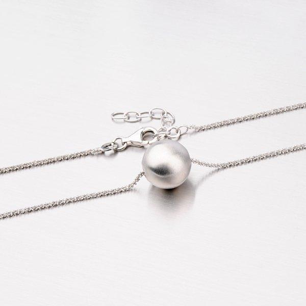 Stříbrný náhrdelník s kuličkou YNG5037-XK-XC