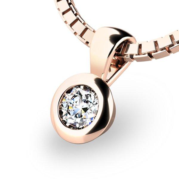 Diamantový přívěsek 10908-CV