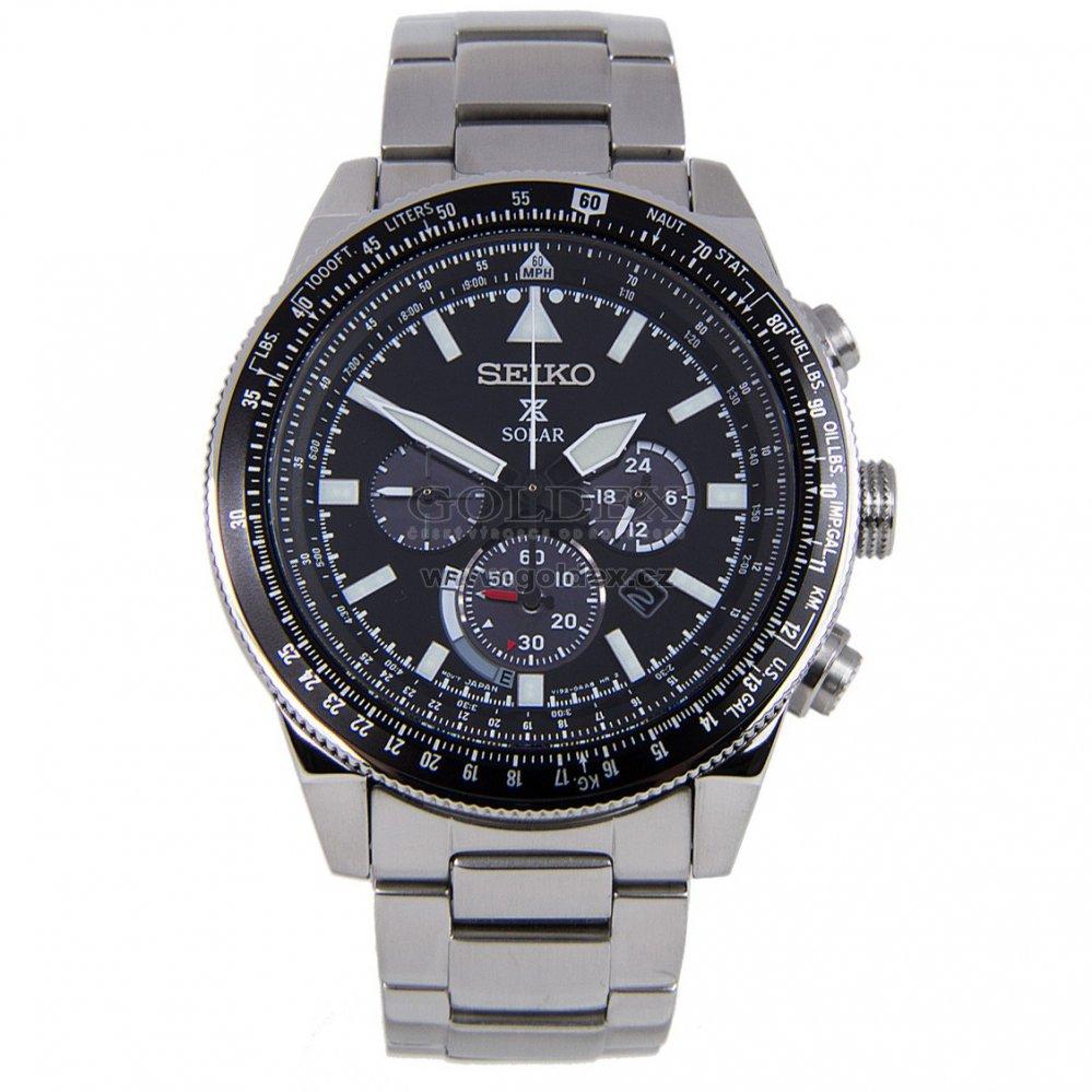 Pánské solární hodinky SEIKO SSC607P1   Goldex.cz 59025c8cb72