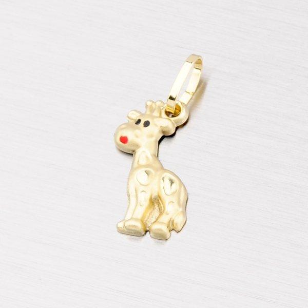 Zlatý přívěsek - žirafa 202-2630