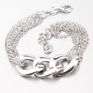 Dámský stříbrný náramek YNG4062