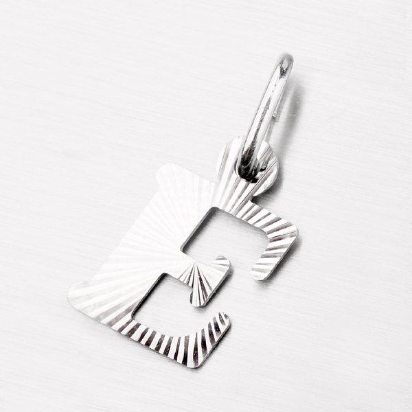Stříbrné písmenko - E M5114-FC-E
