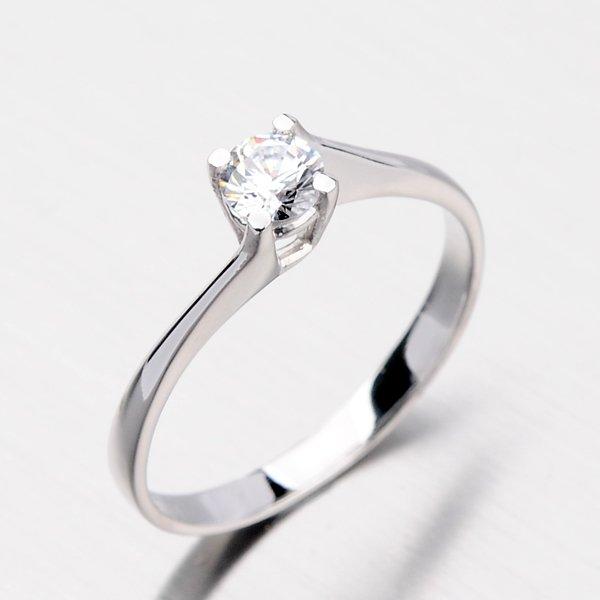Krásný zlatý prsten DZ1957B