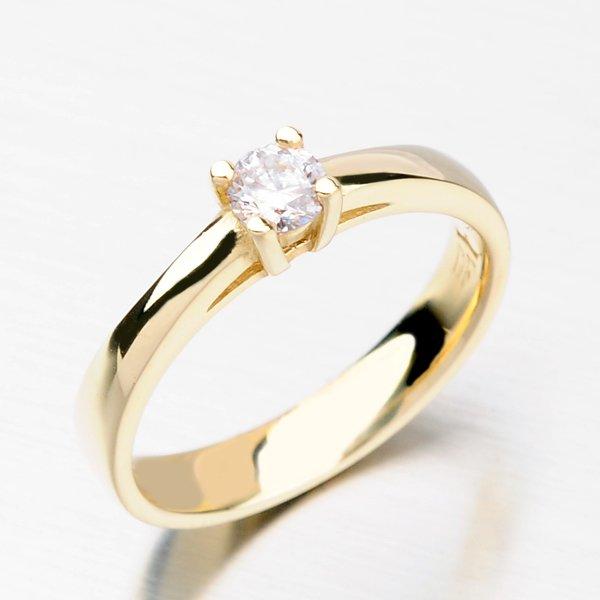 Dámský prsten se zirkony DZ1902ZL