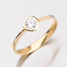 Dámský prsten se zirkonem DZ1883ZL