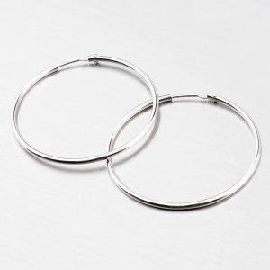 Kruhy ze stříbra 35 mm M6183